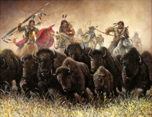 Herding The Buffalo