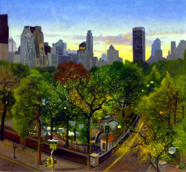 Centeral Park: AMERICAN GALLERY - 21st Century