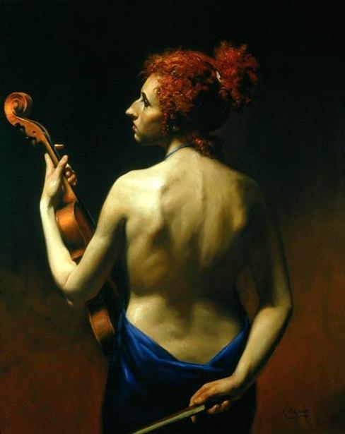 Armonia con viola e rosso inglese