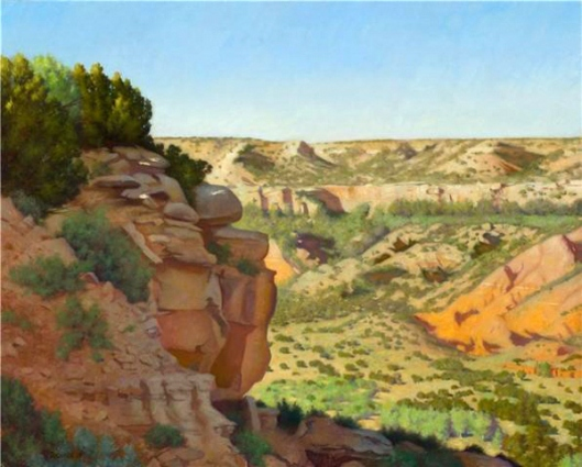 North End Of Palo Duro Canyon
