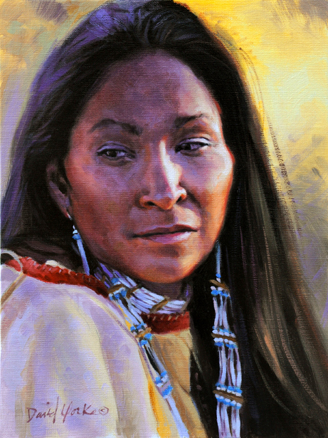 Young Sioux Woman