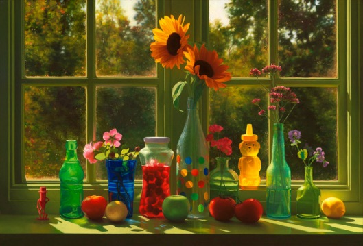 Autumn Window Still Life