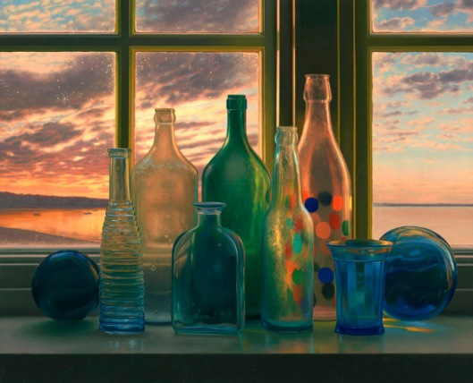 Bottles, Provincetown Sunrise