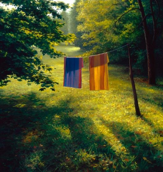 Towels At Sunrise