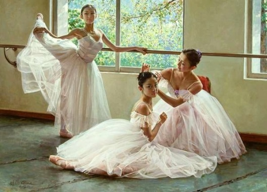 Before Exercise - Ballet Beauties