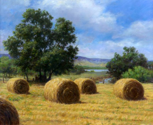 Hay Under A Summer Sun