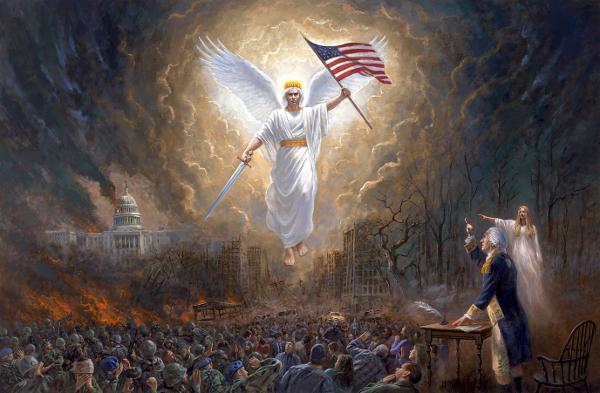 Jon Mcnaughton S Painting Of George Washington