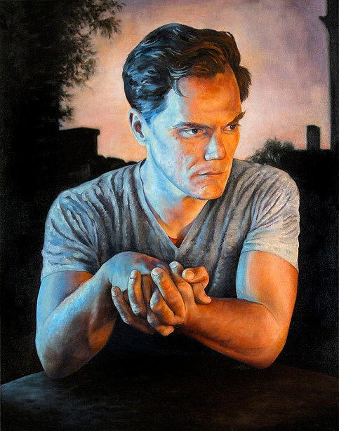 Michael Shannon - Clasped Hands