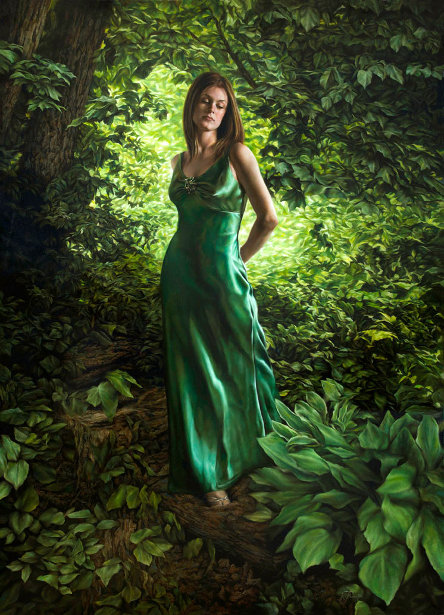 Lady Of The Emerald Forest