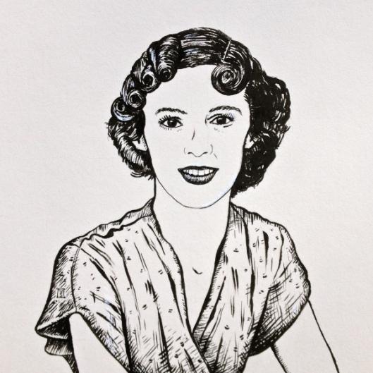 Molly Drake (the mother of Nick Drake)