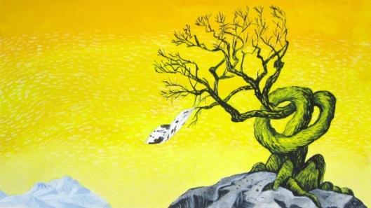 Tree And Handkerchief