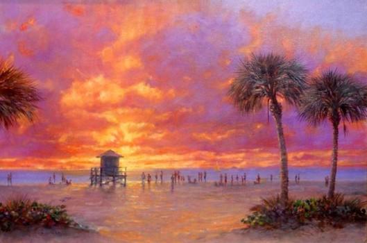 Evening Calm Siesta Beach