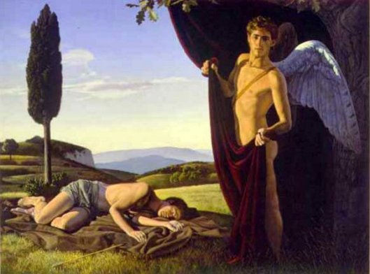 Landscape With Eros And Endymion