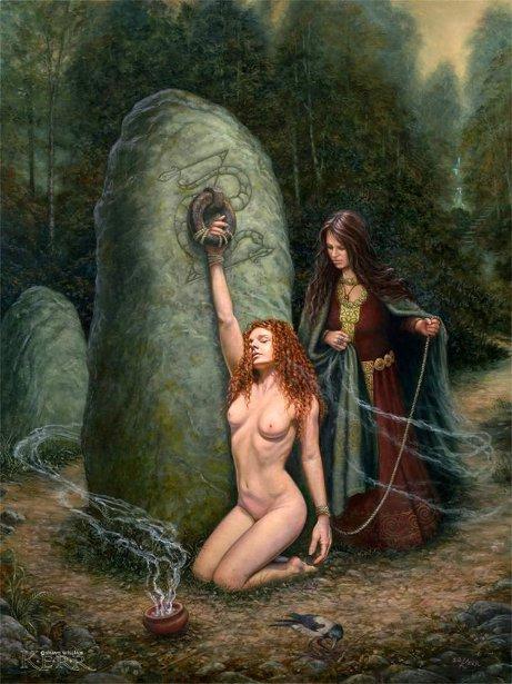 In Danann's Grove