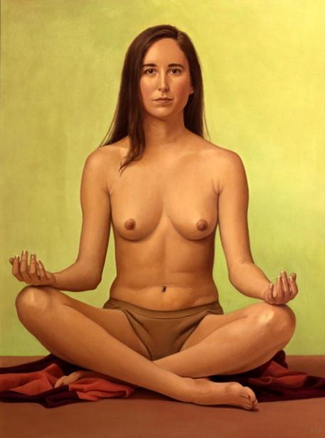 Eloise In Lotus Position