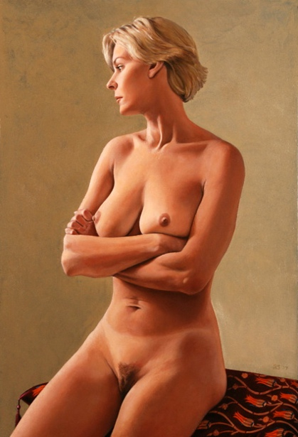Sue, Arms Folded