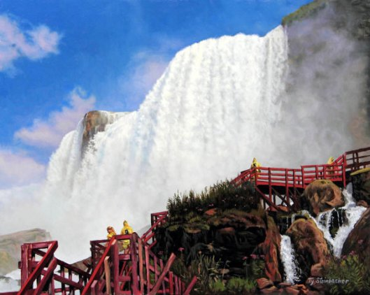 Hurricane Deck - Niagara Falls