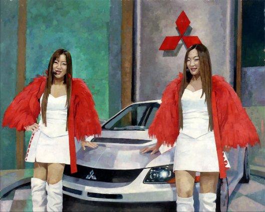Auto Expo Girls