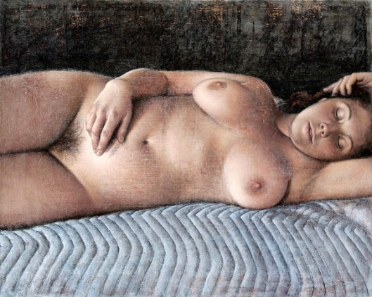 C. Reclining (after Ingres)