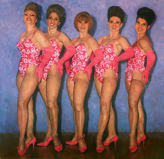Five Pink Ladies