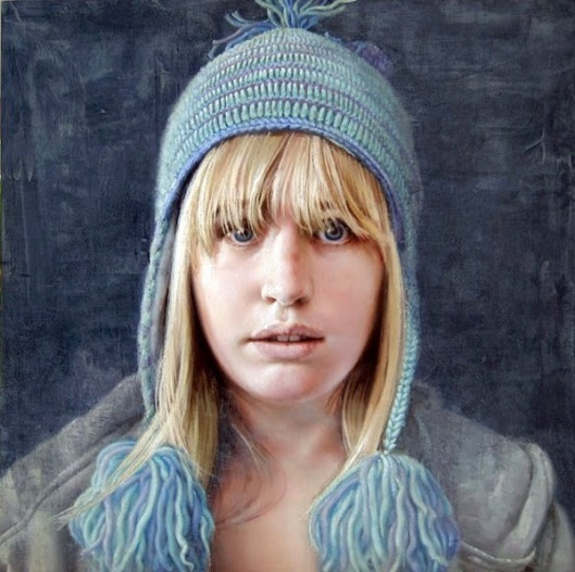 Lizzie With Knit Cap