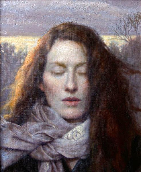 Reckoning - Winter Self Portrait