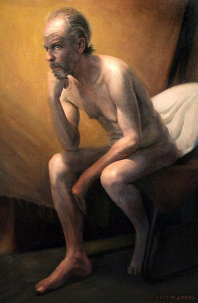 Seated Male - The Thinker