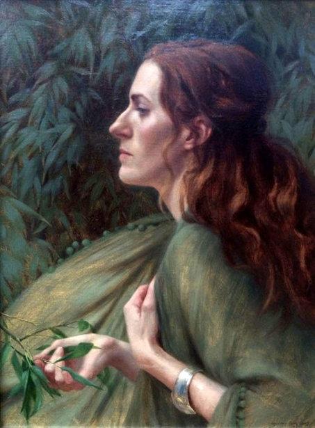 Self Portrait  Into The Wind