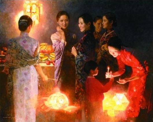 The Night At The Mid-Autumn Festival