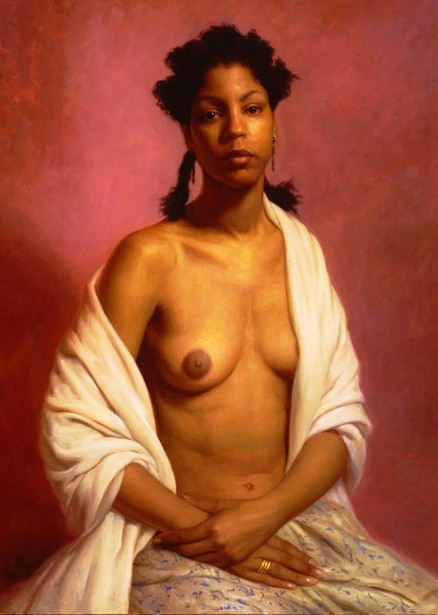 Woman With A Bared Breast