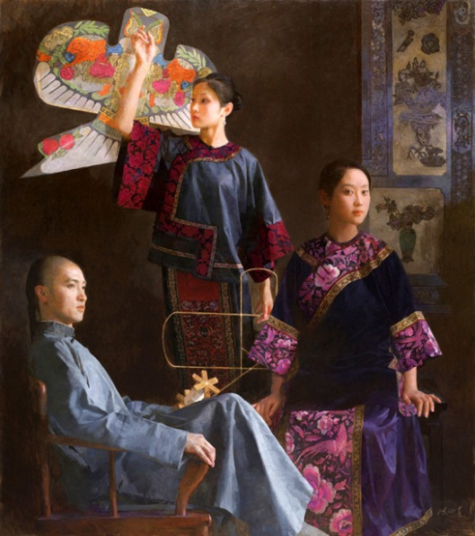 Xueqin With Kite