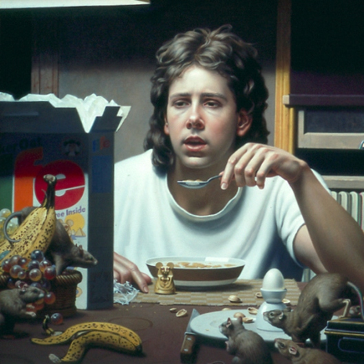 Box Of Life - Self Portrait 1994