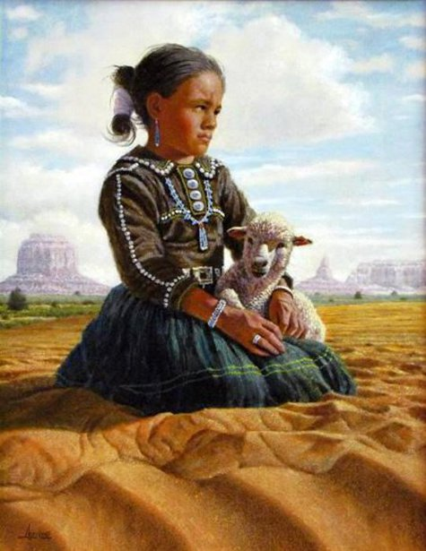 Young Navajo Girl