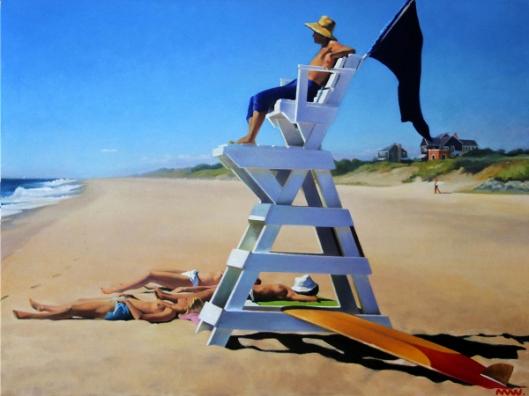 Georgica Beach Lifeguard