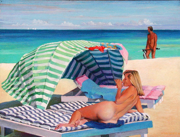 """Sea Breeze"" by Nigel Van Wieck"