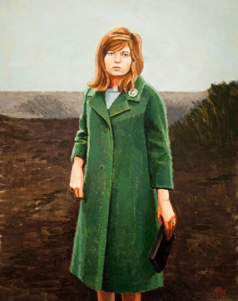 The Green Coat (Monica Vitti in Red Desert)