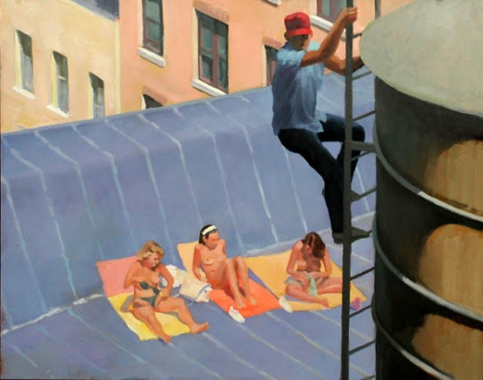 The Watertower Man