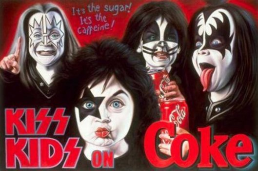 Kiss Kids On Coke