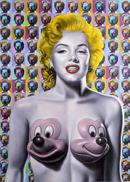Pop Marilyn With Mickeys
