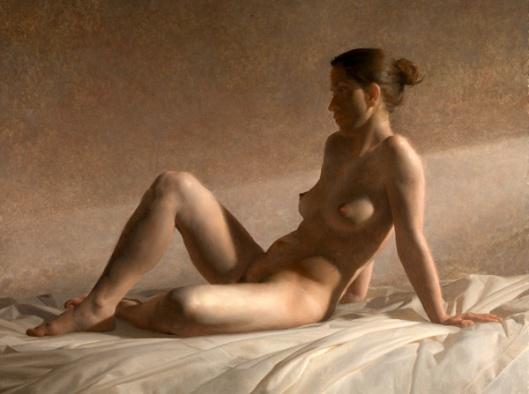 Seated Nude Dusk