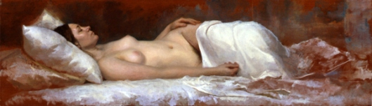 Argenteries - Reclining Nude