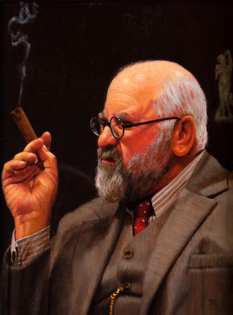 Freud (as portrayed by Mr. David Wohl)