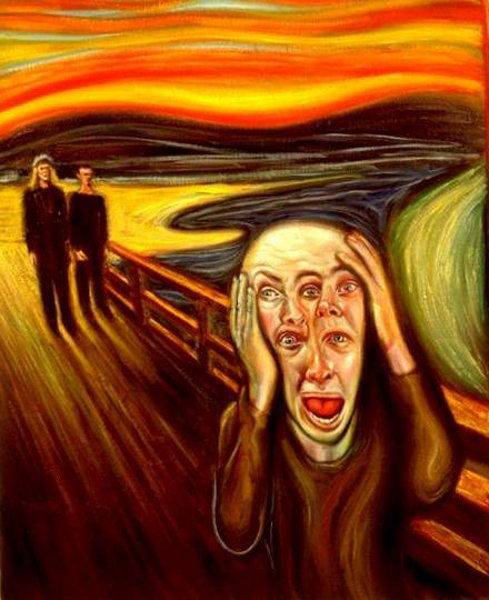 Harmonic Scream