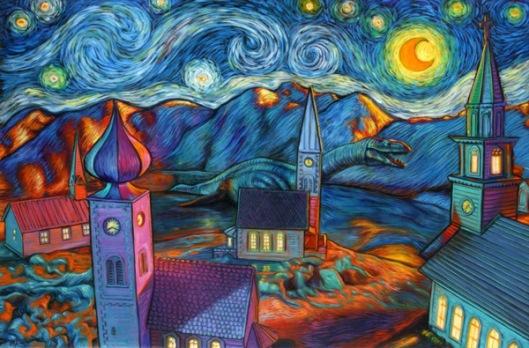 Lochness Starry Night