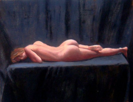 Nude In Repose