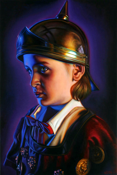 Oddfellow Boy With Helmet