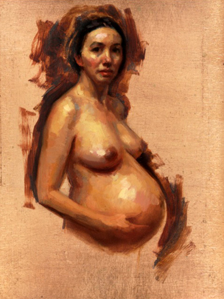 Self Portrait Pregnant