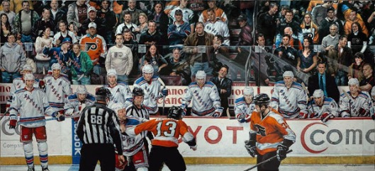 Rangers vs Flyers