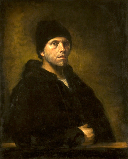 Self Portrait As A 34 Year Old Rembrandt