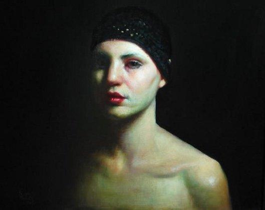 Self-Portrait In Moonlight
